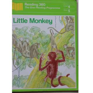 Children's Book : Little Monkey