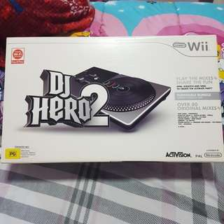 DJ Hero 2 for Wii.