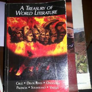 A treasury of world literature