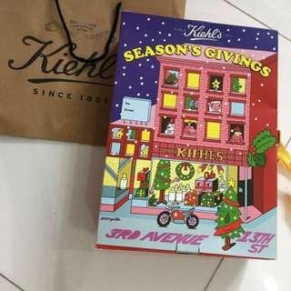 BN Kiehl's advent calendar X Jeremyville limited edition