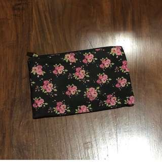 Forever 21 Floral Pouch