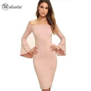 elegant office dress