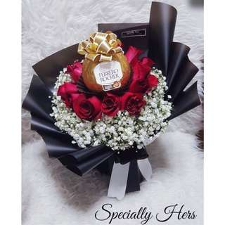 Grand ferrero chocolate bouquet - Special Edition
