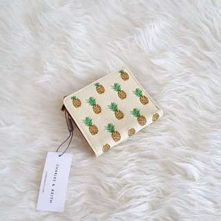 Charles N Keith Pineapple Wallet Original