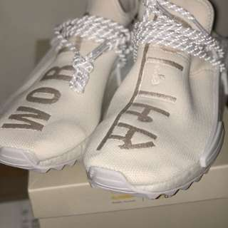 Adidas NMD Pharell Williams Human Race Blank Canvass