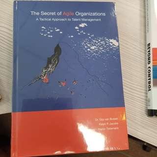 The Secret ofAgile Organizations