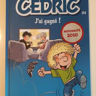 Cedric (French) comic book