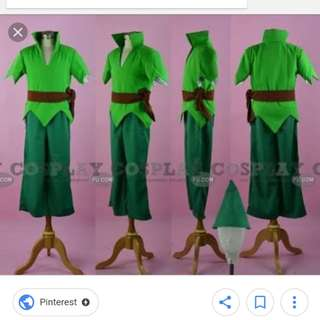 Looking for : Peter Pan Costume to fit 6 year old kid