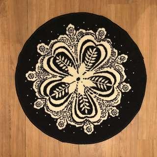 Ikea round mat