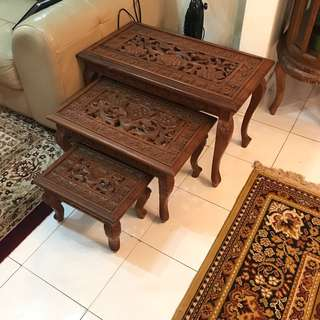 Side Table Kayu Jati