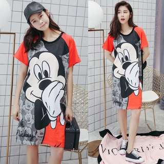 PO Mickey T Shirt Dress