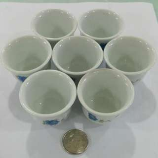 Mini Porcelain Tea Cups