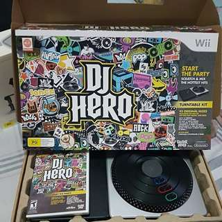 DJ Hero for Wii.