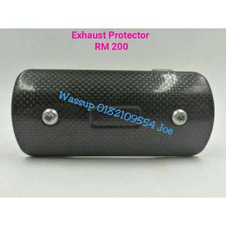 Exhaust Piping Protector