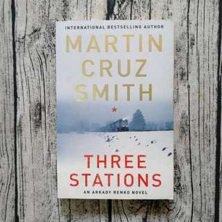 USED BOOK: Three Stations