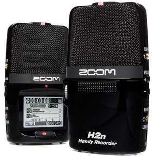 Zoom H2n Handy Recorder Portable Digital Audio Recorder For DSLR or Mirrorless Camera