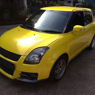 SUZUKI SWIF SPORT MANUAL 2008