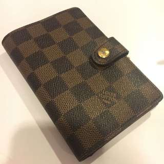 Louis Vuitton French Wallet Damier