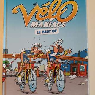 Velo Maniacs best of (French) comic book