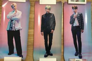 Official BTS Wings Tour Final Posters