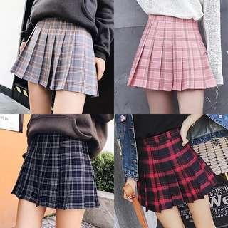 [PO] Checkered Skirt / Skort