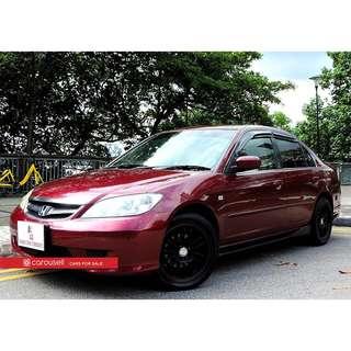 Honda Civic 1.6A VTi (COE till 06/2020)