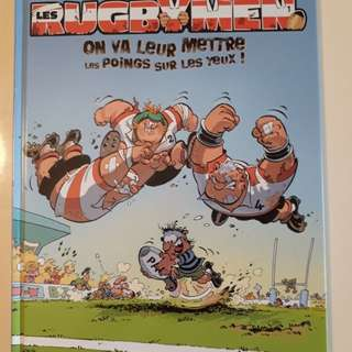 Les Rugbymen (French) comic book