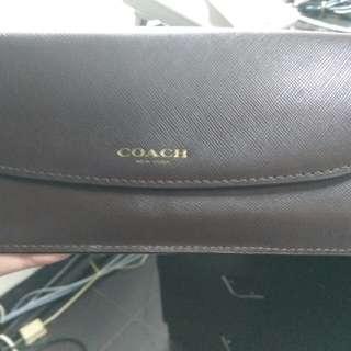 Clearance sale!!Dompet Coach Ori warna Coklat