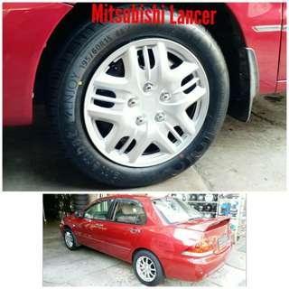 Tyre 195/60 R15 Membat on Mitsubishi Lancer 🐕 Super Offer 🙋♂️
