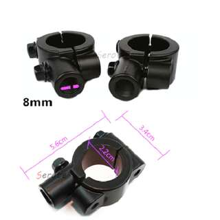 MotorcycleHandlebar Mirror Mount Adapter Holder Clamp