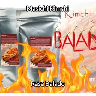 Masichi Kimchi Rasa Balado 250 gram