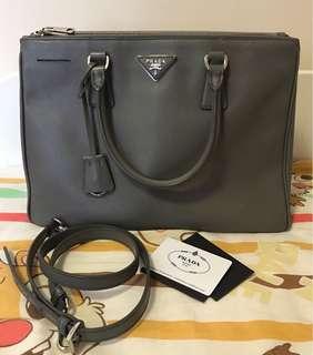 Prada leather bag (authentic)