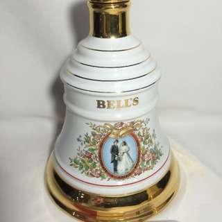 Vintage Bells Scotch Whisky Empty Bottle