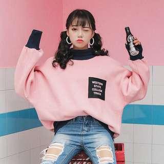 [PO] Oversized Pullover Ulzzang