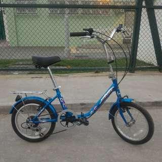 """16"""" DRAGON Folding Bike 5sp"""