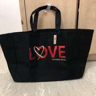 Brand new Victoria Secret large love tote Bag