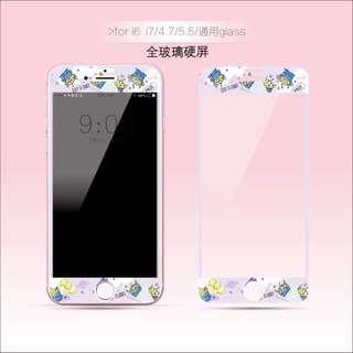 紫色三眼仔 iPhone mon 貼