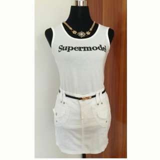 SuperModer top & G'girl jeans for 2