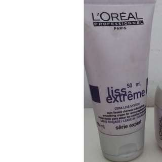 Loreal liss extreme smoothing cream for unmanageable hair