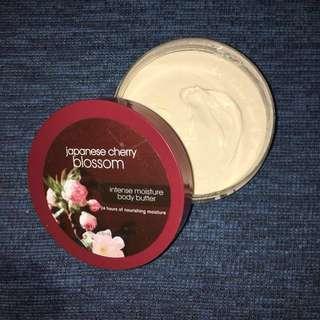 body butter japanese cherry blossom