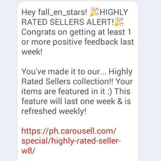 Highly Rated! Third time thank you ^^