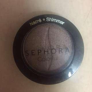 Sephora brown natural eyeshadow in Tahitian pearl N 285