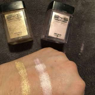 BYS shimmer powders