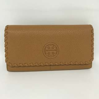 TB Marion Continental Wallet in Bark 12 Card-Slots size 20x10 with Receipt and tag