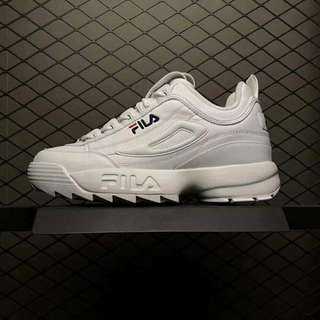 FILA DISRUPTOR II 2 White Shoe