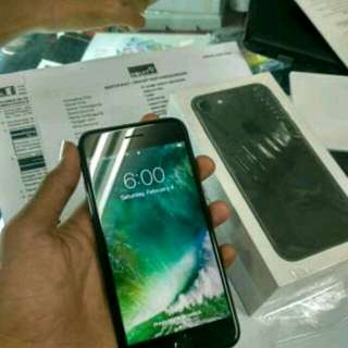 Apple iPhone 7 Black Ready Cicilan 128gb New