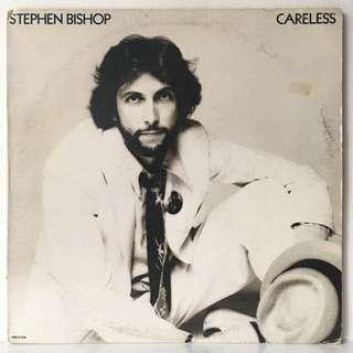 Stephen Bishop – Careless (1976 USA Original Pressing - Vinyl is Excellent)