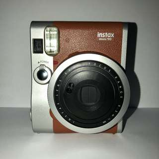 PRE-OWNED MINI 90 NEO CLASSIC INSTAX CAMERA - BROWN