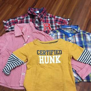 Baby boy's top bundle! fits 3-6 months