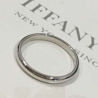 Mint Tiffany & Co. Lucida Platinum Pt950 Classic Wedding Band Ring #4